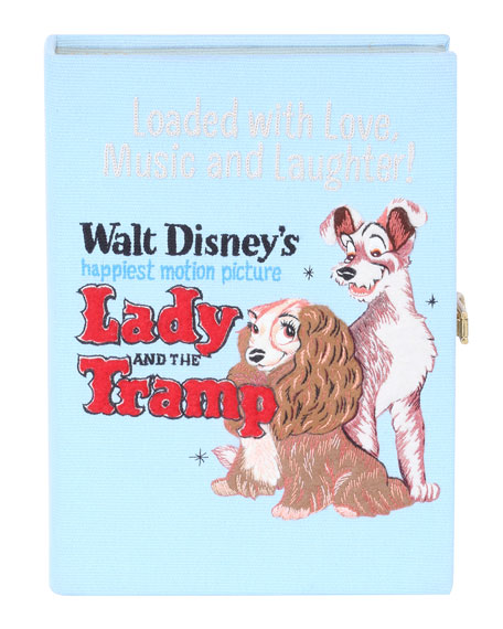 Olympia Le-Tan Crossbody LADY AND THE TRAMP BOOK CROSSBODY CLUTCH BAG