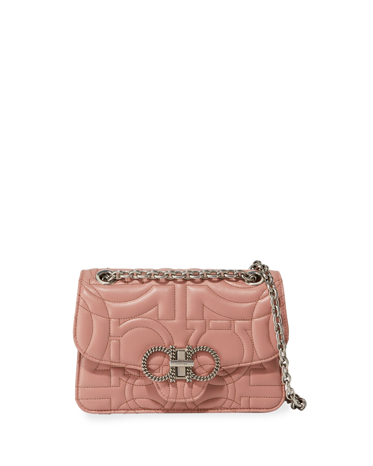Salvatore Ferragamo Gancio Quilting Small Crossbody Bag  12f0980d1de1b
