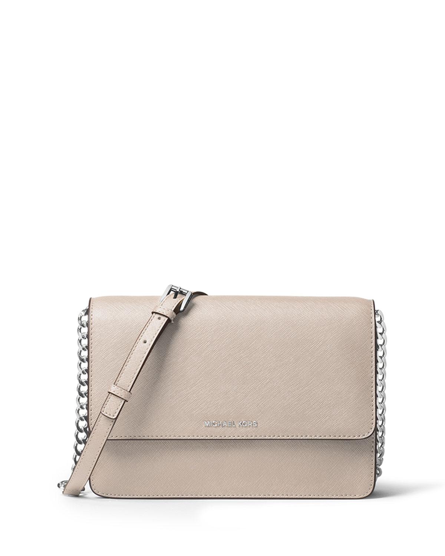 e8539ad842794d MICHAEL Michael Kors Daniela Large Saffiano Crossbody Bag, Cement ...