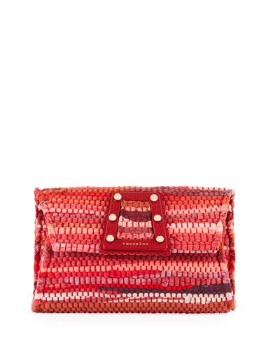 3D Woven Clutch Bag