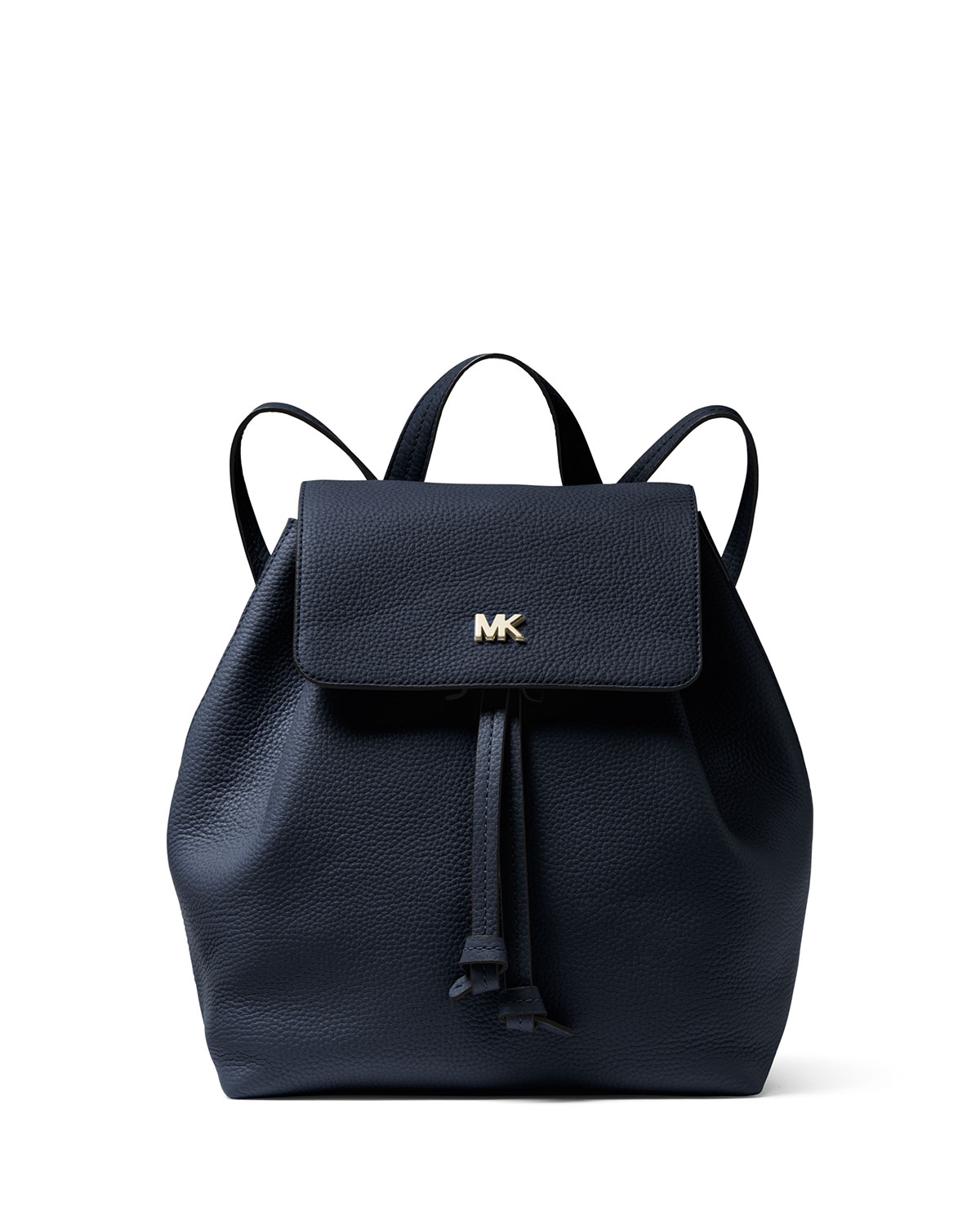 92938069fc09 MICHAEL Michael Kors Junie Medium Leather Flap Backpack | Neiman Marcus