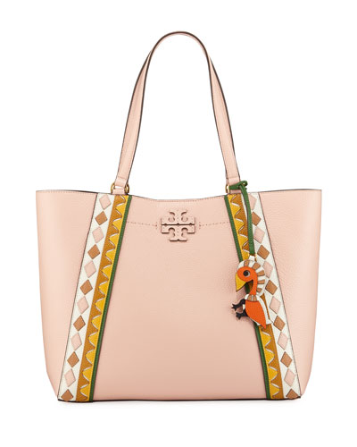 McGraw Patchwork Carryall Tote Bag