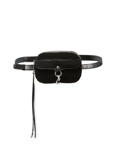 Rebecca Minkoff Blythe Shearling Belt Bag