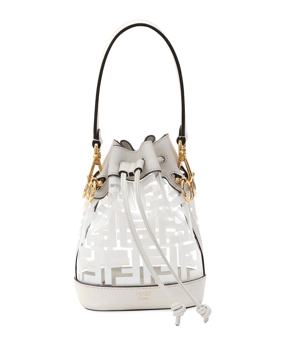 c6f962e7462f Fendi Mon Tresor Mini FF Bucket Bag