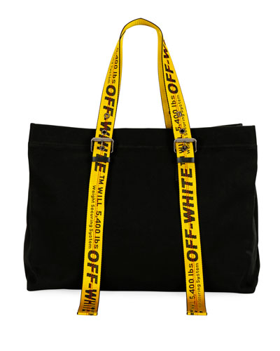 Two-Tone Canvas Tote Bag