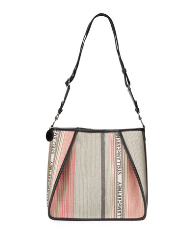 Large Logo Patchwork Crossbody Bag