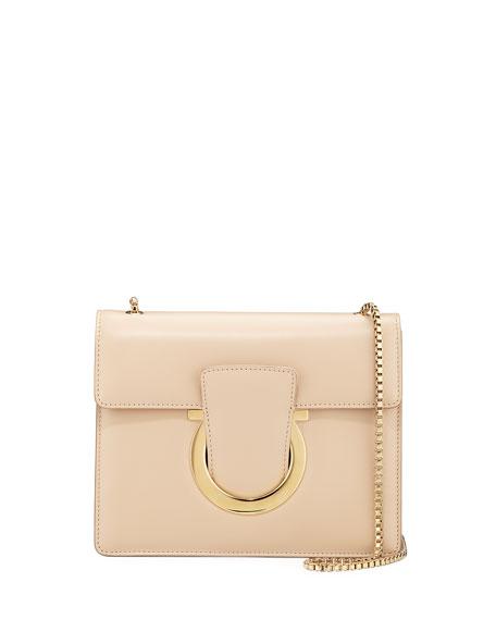 Salvatore Ferragamo Thalia Small Leather Crossbody Bag