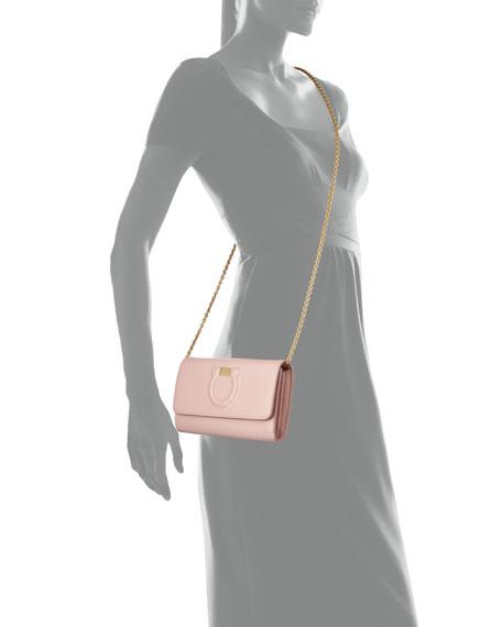 Salvatore Ferragamo Gancio City Mini Wallet Bag