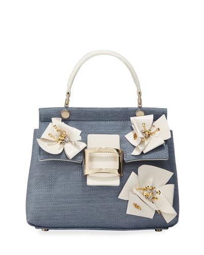 Viv Flower Patch Cabas Mini Top Handle Bag