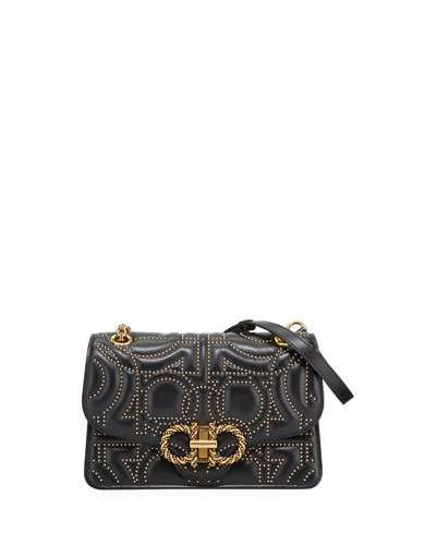 Quilted Grande Studded Crossbody Bag