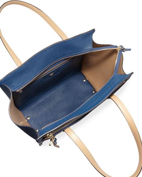 Salvatore Ferragamo Amy Medium Leather Tote Bag