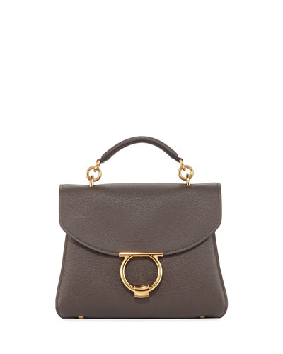 Margot Medium Leather Shoulder Bag