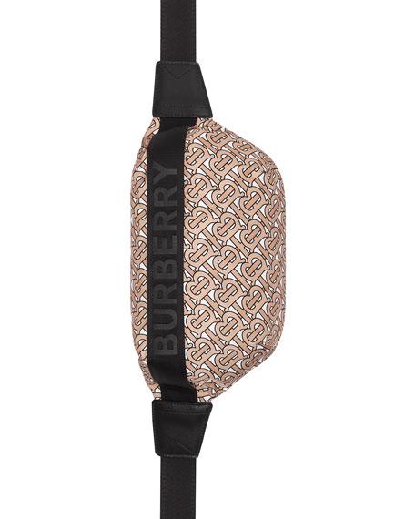 Burberry Sonny TB Monogram Nylon Belt Bag