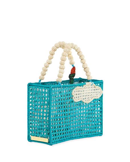 Mercedes Salazar Statue of Liberty Top Handle Bag