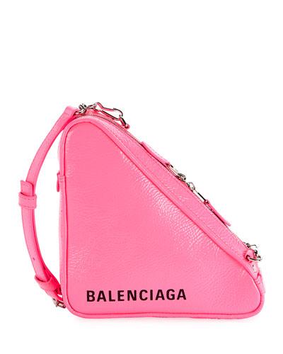 Triangle Pouch Crossbody Bag