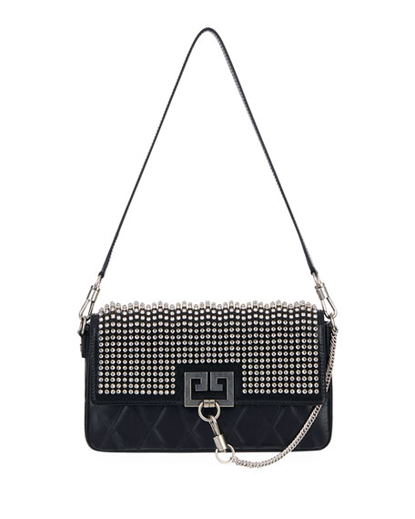 Givenchy Charm Small Studded Leather Shoulder Bag