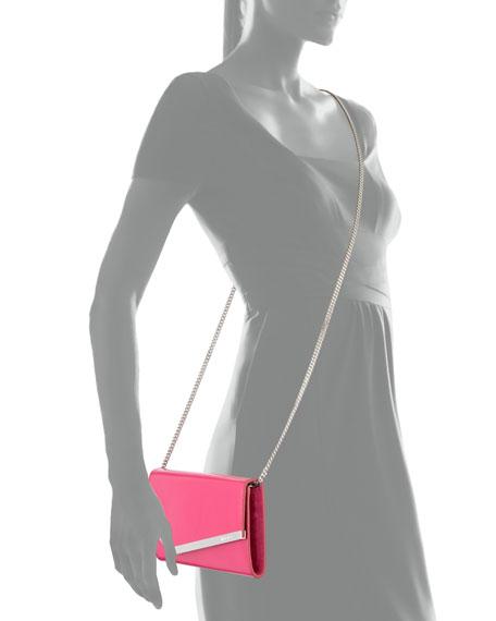 Jimmy Choo Emmie Patent Leather Clutch Bag