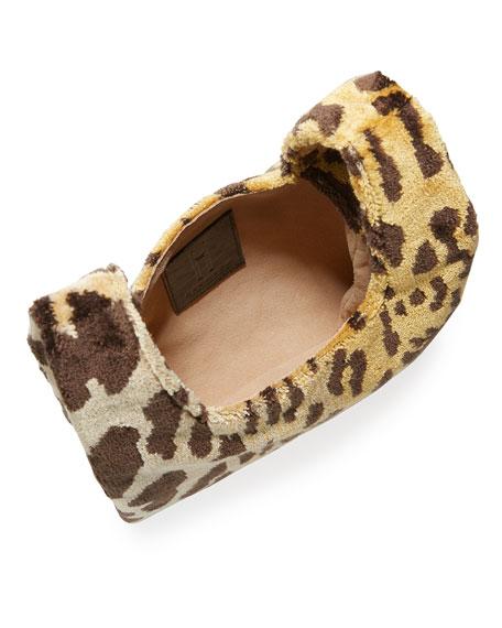 Hayward Mini Shopper Leopard Brocade Bag