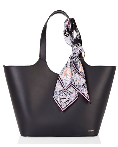 Scarf Mix Shopper Tote Bag