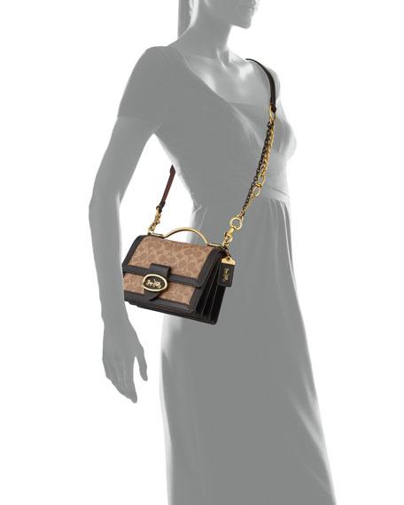 Coach 1941 Riley 22 Coated Canvas Crossbody Top-Handle Bag