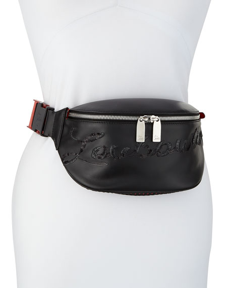 Christian Louboutin Marie Jane Leather Belt Bag