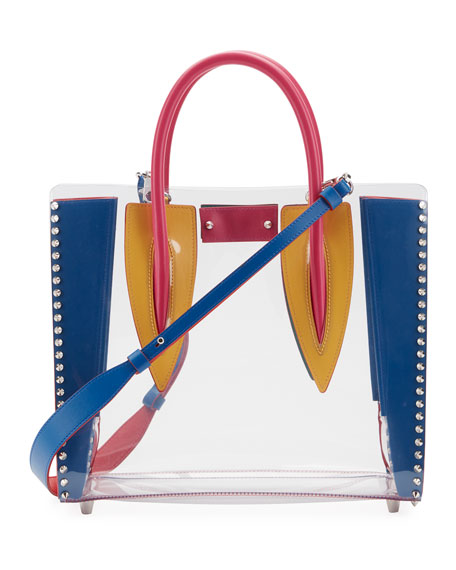 Christian Louboutin Paloma Medium PVC Tote Bag
