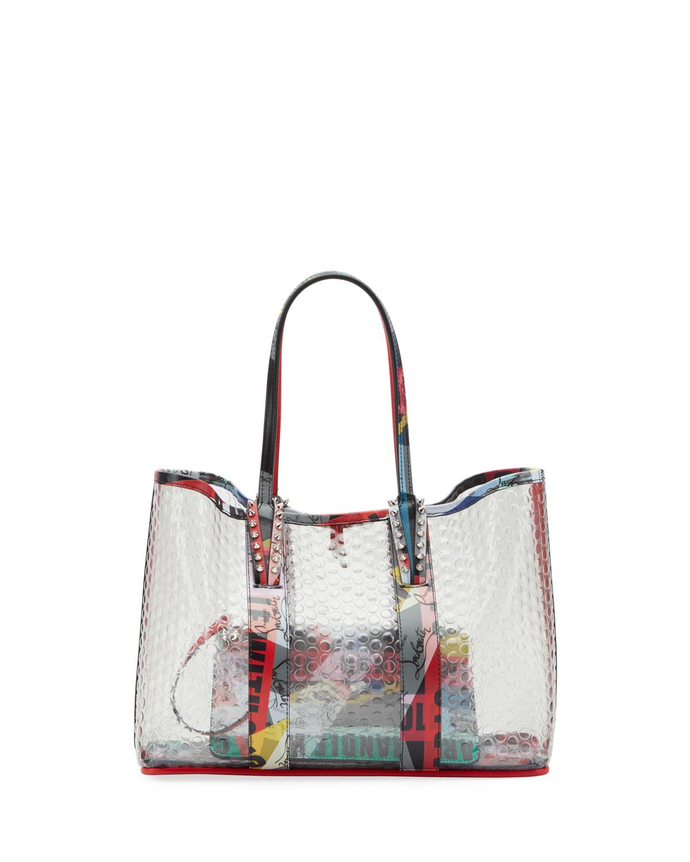 bf7f618b44 Christian Louboutin Cabata Small Bullpack Tote Bag | Neiman Marcus