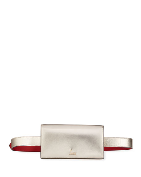 Christian Louboutin Boudouir Chain Napa Belt Bag with Shoulder Strap