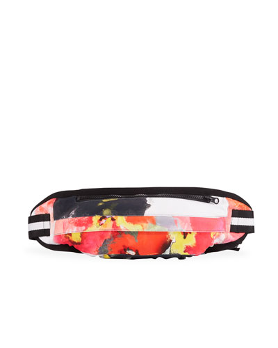 Watercolor Floral Fanny Pack Bag