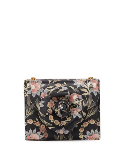 Baby Tro Floral Top-Handle Bag