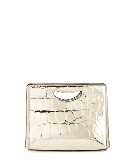 Hayward 1712 Basket Metallic Clutch Bag