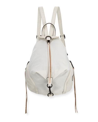 Julian Vertical-Zip Nylon Backpack