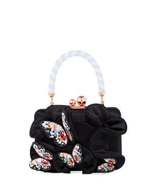 8dd675ab99a1 Sophia Webster Vivi Butterfly Box Bag