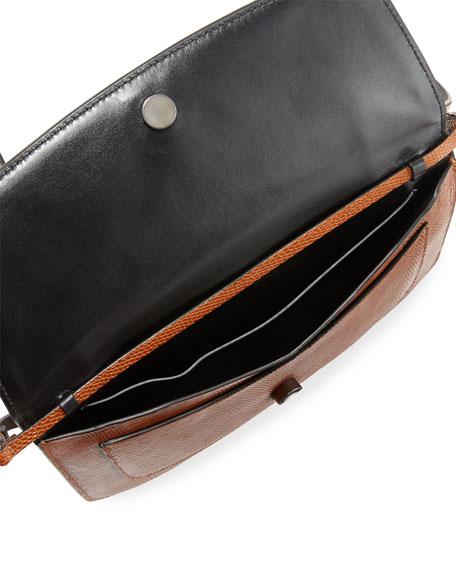 Brunello Cucinelli Convertible Lizard Crossbody/Belt Bag