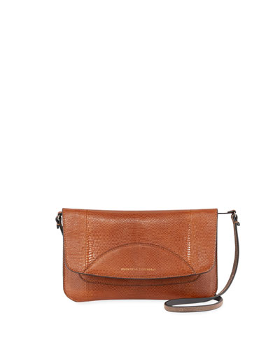Convertible Lizard Crossbody/Belt Bag