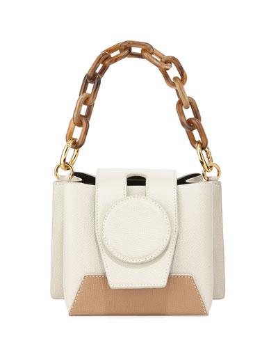 Daria Two-Tone Shoulder Bag