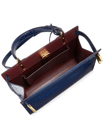Tory Burch Lee Radziwill Small Satchel Bag