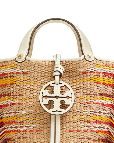 17de530aa22 Tory Burch Miller Mini Fringe Bucket Bag | Neiman Marcus