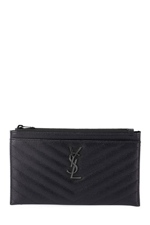 Saint Laurent Monogramme Quilted Wallet