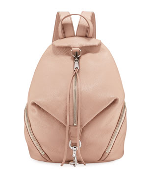 52d34d1df Rebecca Minkoff Julian Pebbled Leather Backpack