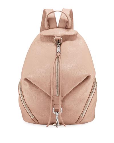 Julian Pebbled Leather Backpack