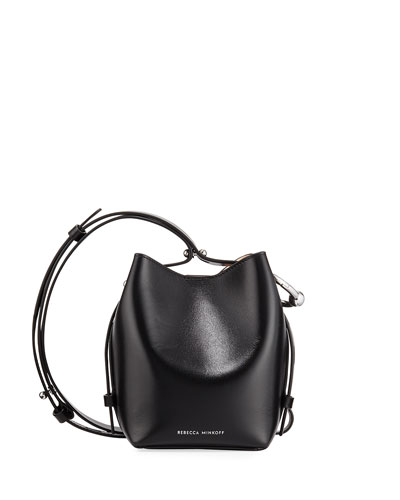 Kate Mini Leather Bucket Bag