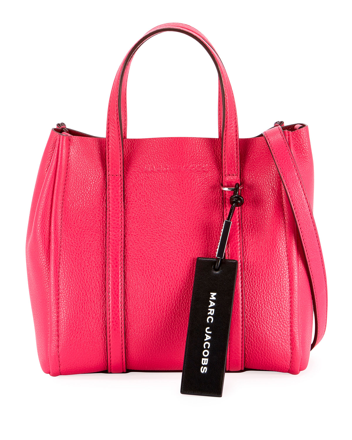 f9ea6fe56c69 Marc Jacobs The Tag Leather Tote Bag