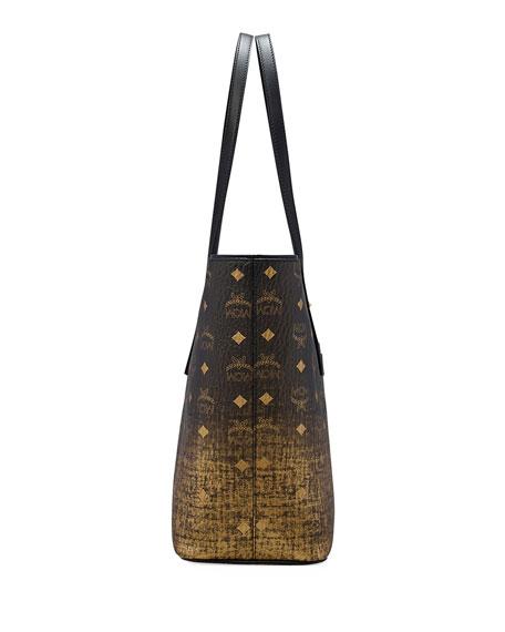 MCM Medium Gradations Visetos Shopper Tote Bag