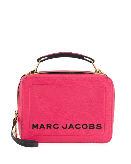 Marc Jacobs The Textured Box Crossbody Bag