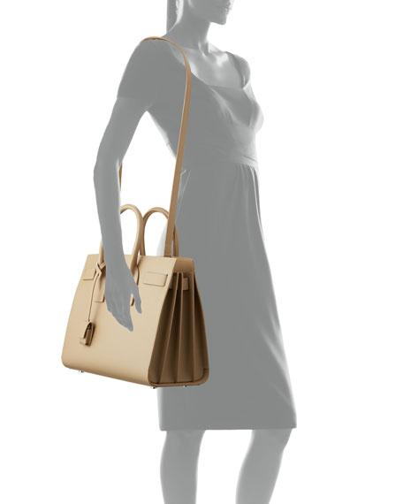 Saint Laurent Sac de Jour Small Smooth Leather Satchel Bag