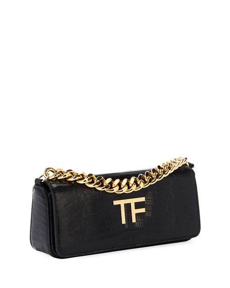 TOM FORD TF Chain Mini Baguette Clutch Bag