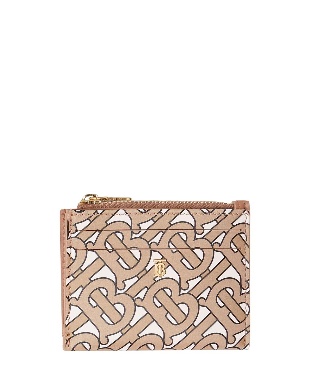 Simone Tb Monogram Card Case by Burberry