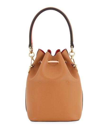 Fendi Mon Tresor Perforated Bucket Bag
