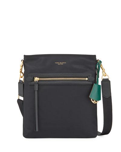 Perry Nylon Swing-Pack Crossbody Bag
